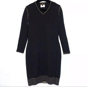 Auth FENDI Wool Vintage Dress